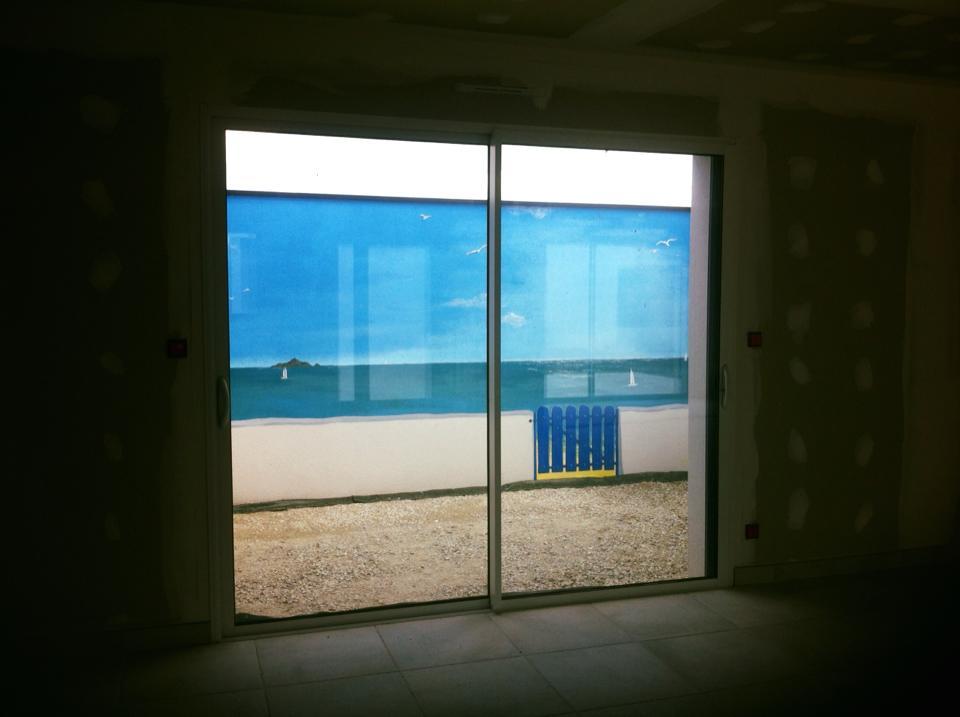 Décor plage grecque