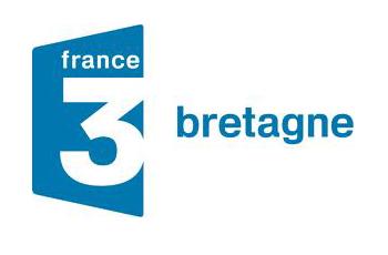 Fresque terminée sur France 3 Bretagne au Dédale café