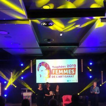 Lauréate Trophée Femmes de l'artisanats 2019 – Stéphanie Ferandez