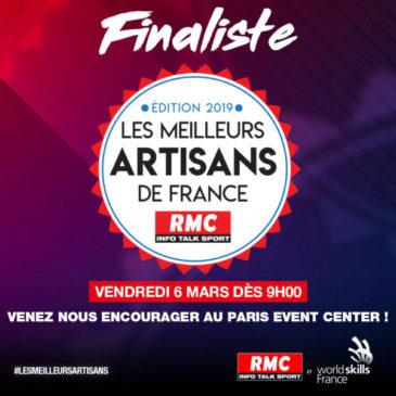 Finaliste Meilleurs Artisans de France – 5 & 6 mars à Paris